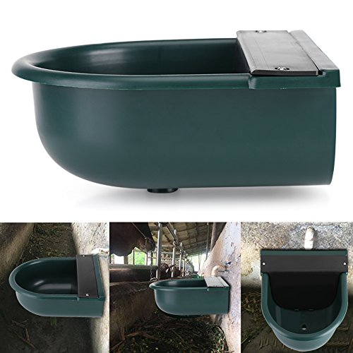 for Animal, Automatic Float Valve Water Bowl Sheep Dog Chicken Cow Horse Cattle Goat Pig Auto Fill Water Trough ()
