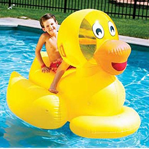Swimming Pool Giant Inflatable Duck Float Kids Toy Buy