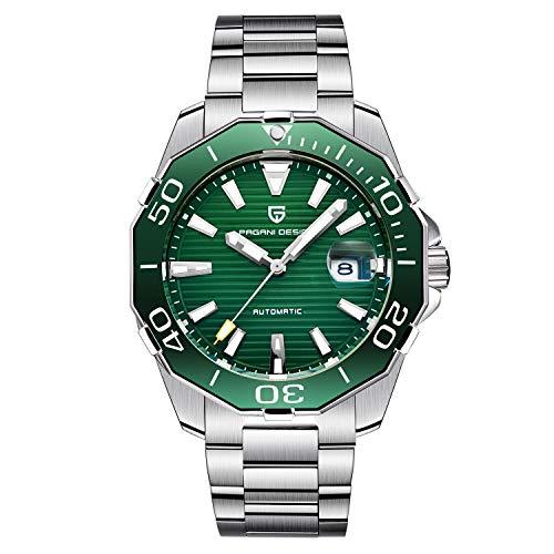 PAGANI DESIGN,Man Automatic Watches,Man Mechanical Watch,Mens Watches, Men Full Steel Business Waterproof Fashion Sport Watches