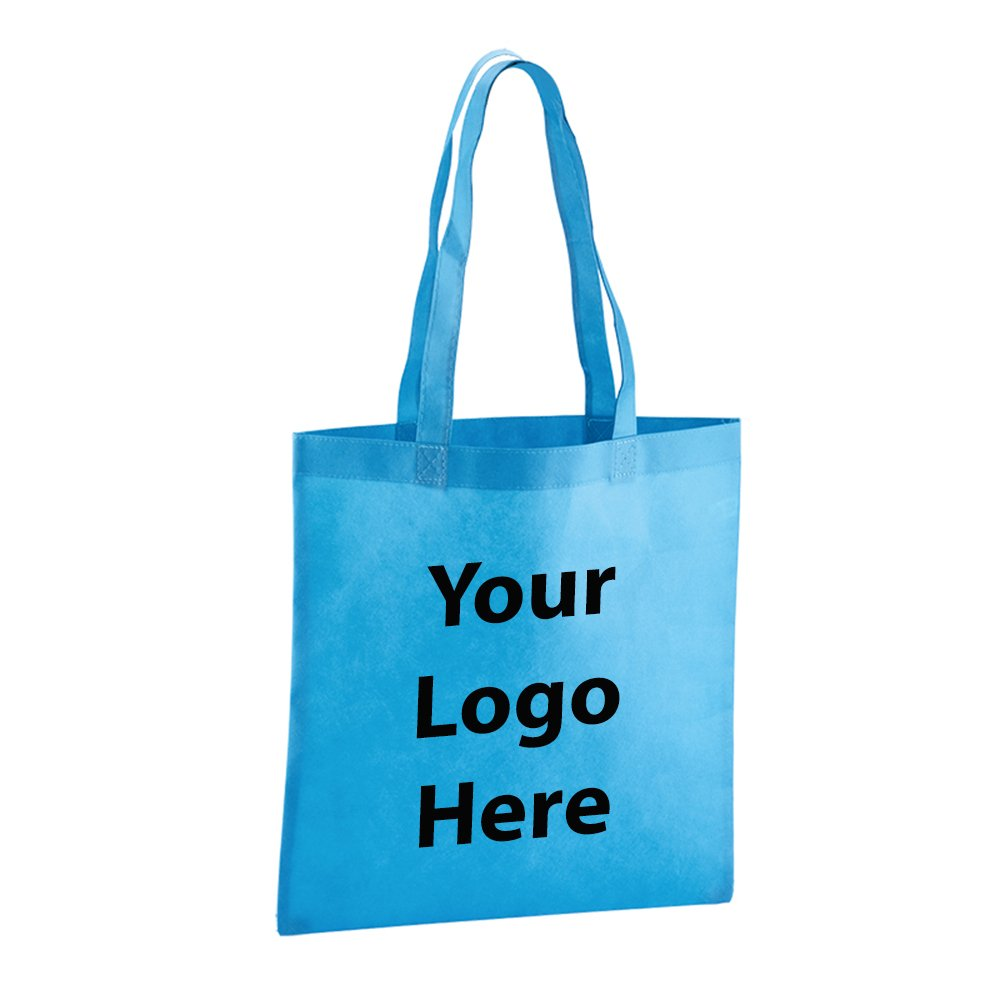 Value Tote - 50 Quantity - $1.80 Each - PROMOTIONAL PRODUCT / BULK / BRANDED with YOUR LOGO / CUSTOMIZED