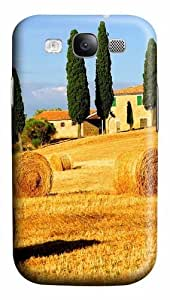 Italy landscape Custom Samsung Galaxy I9300/Samsung Galaxy S3 Case Cover Polycarbonate 3D