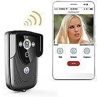 PowPro Pbel PCM-05BCM Wifi Waterproof Video Door Phone Wifi Video Doorbell Intercom System with Night Vision
