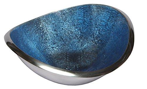 Melange Home Decor Classic Collection, 7-inch Wave Bowl, Color - Sky Blue