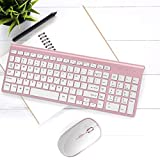 Wireless Keyboard and Mouse Combo, Stylish Compact