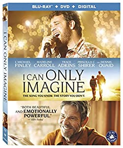 Cover Image for 'I Can Only Imagine [Blu-ray + DVD + Digital]'