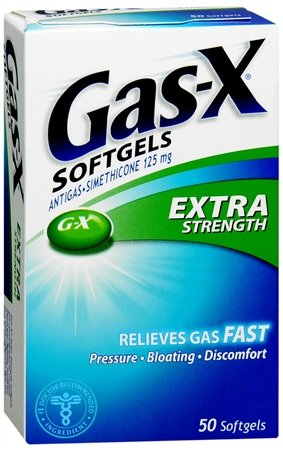 Gas - X Antigas Extra Strength 50 Softgels