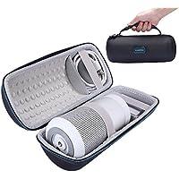 Case for Bose SoundLink Revolve - MASiKEN EVA Hard Protective Travel Carrying Case Storage Box Bag for Bose SoundLink Revolve Bluetooth Speaker - Extra Room For Charging Cradle & Cable