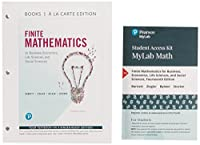 Finite Mathematics for Business, Economics, Life Sciences, and Social Sciences, Books a la Carte, and MyLab Math with Pearson eText -- Title-Specific Access Card Package (14th Edition)