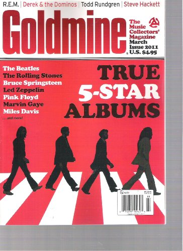 Johnny Cash Rolling Stone (Goldmine Magazine (true 5 star albums, March 2011))
