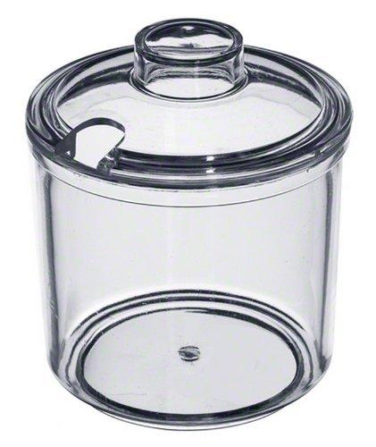 Update International (CJ-7AC) 7 Oz Plastic Condiment Jar w/ Cover