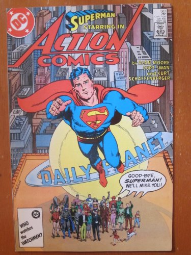 Action Comics #583. Whatever Happened to the Man of Tomorrow? by Alan - Man Whatever Happened The To