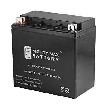 Amazon Com Mighty Max Battery Ytx14 Bs Replacement For Atv Honda