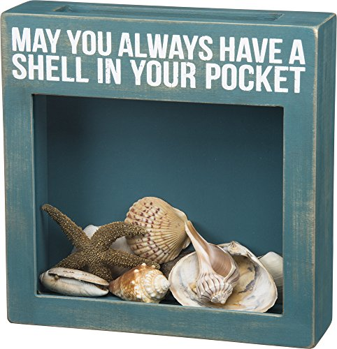 Primitives by Kathy May You Always Have A Shell in Your Pocket Shell Shadow ()