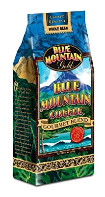 Blue Mountain Blend Coffee Beans, 10-Ounce (Pack of 3)