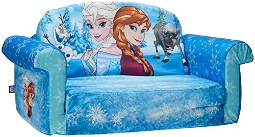 Marshmallow Furniture Childrens 2 In 1 Flip Open Foam Sofa Disney Frozen By Spin Master