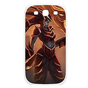 Shyvana-001 League of Legends LoL case cover Samsung Galaxy Note4 Plastic White
