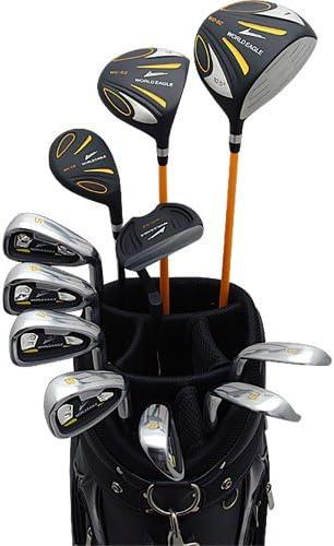 WORLD EAGLE (월드이 글) 5Z 남성 골프 클럽 풀 세트 블랙 CBX001 블랙 가방 Ver. 오른쪽에 플렉스 S WE-5Z-BK-S-CBX001 / WORLD EAGLE 5Z Men`s Golf Club Full Set Black CBX001 Black Bag Ver. Right Flex S WE-5Z-BK-S-CBX001