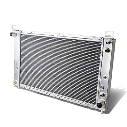 DNA Motoring RA-SILVERADO99-2 2-Row Full Aluminum Radiator