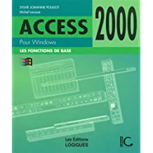 Access 2000 pour windows de base