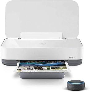 HP Tango Smart Home Printer with Echo Dot (3rd Gen) Charcoal