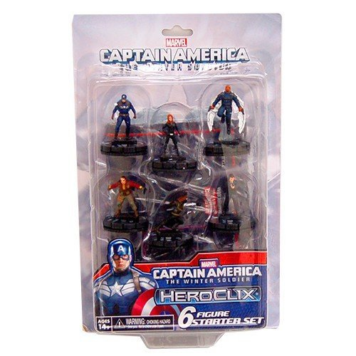 Marvel HeroClix: Captain America Winter Soldier Starter Set Board Game