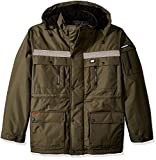 Caterpillar Men's Big Heavy Insulated Parka, Army Moss, X-Large/Tall