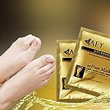 ZYooh Foot Care,Hot Remove Dead Skin Foot Mask Peeling Cuticles Heel Feet Care Anti Aging