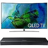 Samsung QN65Q8C Curved 65-Inch 4K Ultra HD Smart QLED TV w/ Samsung 3D Wi-Fi