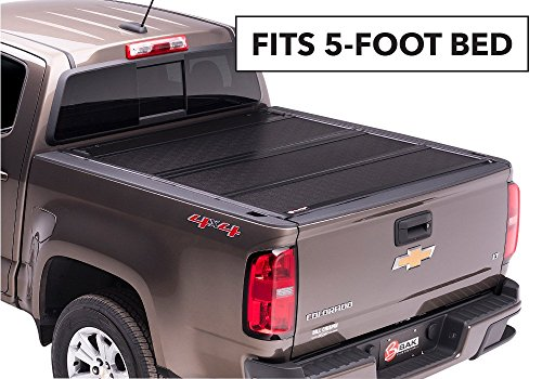 Cover Bakflip G2 Bed (BAK Industries BAKFlip G2 Hard Folding Truck Bed Cover 226506 2005-16 NISSAN Frontier 5' With or W/O Track System (Certified Refurbished))