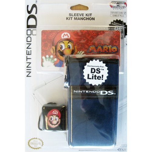DSi and DS Lite Character Game Sleeve - Mario by PowerA