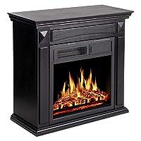 JAMFLY 26'' Electric Fireplace Mantel Pa...