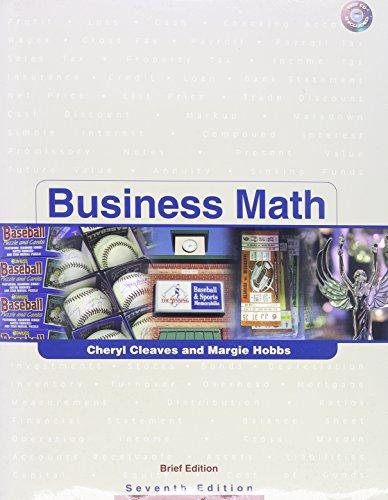 Busn Math Brf&Excel Appl (7th Edition)