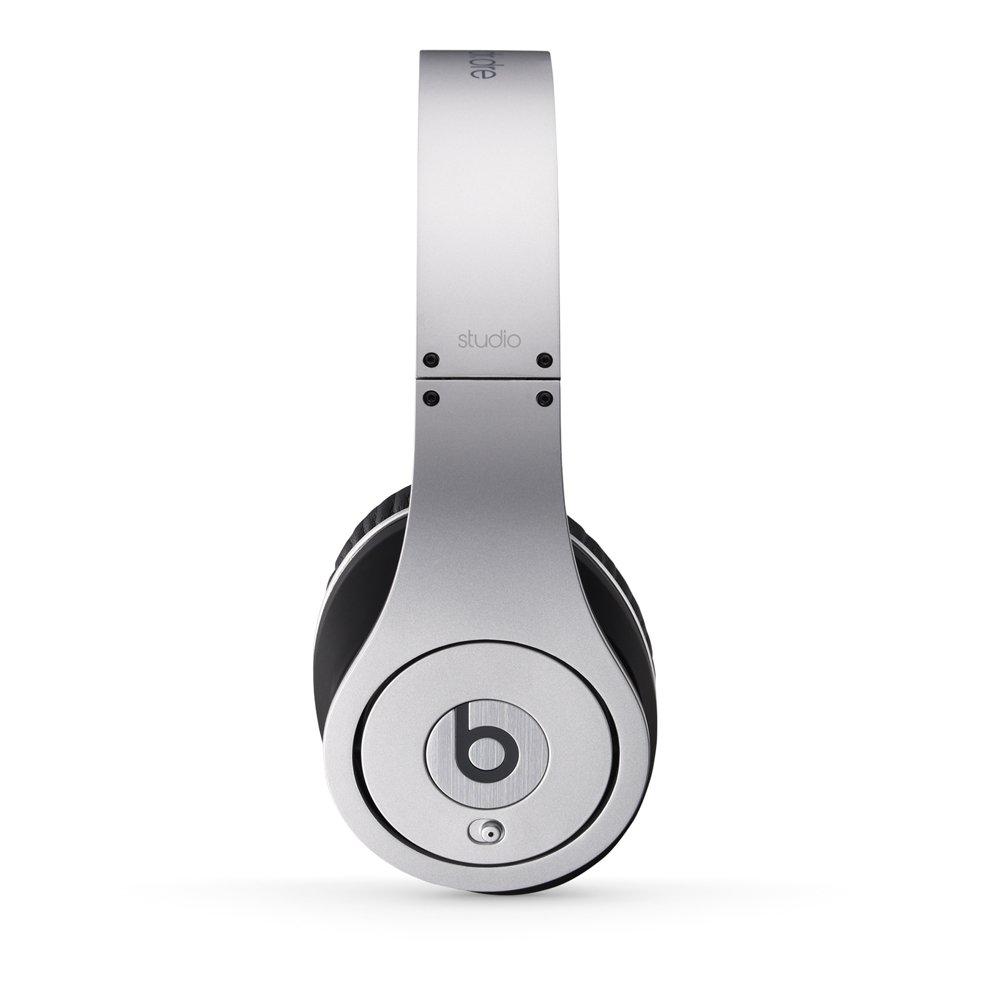Amazon.com: Beats Studio Wired Over-Ear Headphone - Silver ...