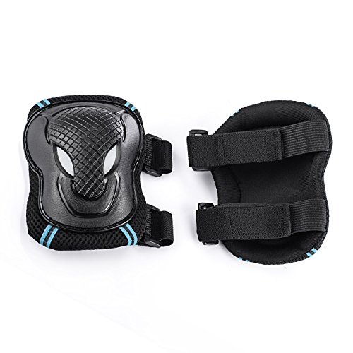 Tera Skateboard Roller Blading Elbow Knee Wrist Protective Safety Gear Pad Guard...