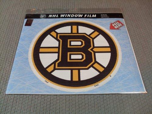 NHL Boston Bruins Large Window (Boston Monogram)