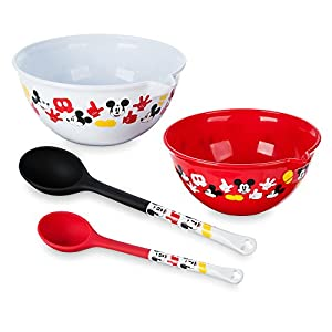 Disney Mickey Mouse Bowl and Spoon Set