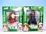 Rewrite rewrite Kobe Birds & Senri Akane figure prize Taito (all two full set + Poster with bonus)