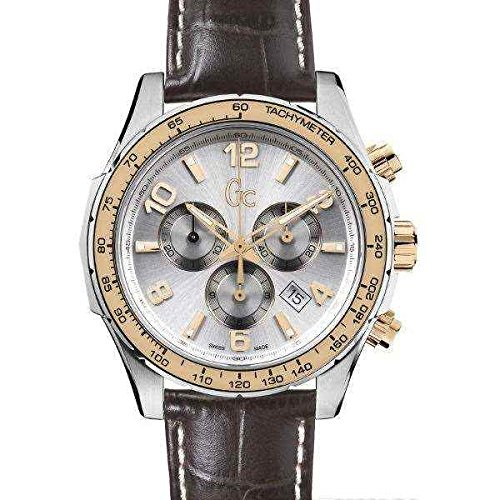 Guess Men's Chronograph Quartz Watch with Leather Strap X51005G1S