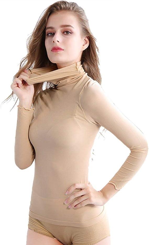 REGNO Unito WOMEN/'S Donna Collo Alto Body Taglia 8 a 16