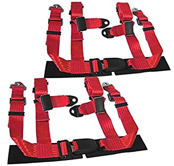51u2SnNieUL._SX355_ amazon com rxmotor 4 point racing seat belt harness buckle 2 inch