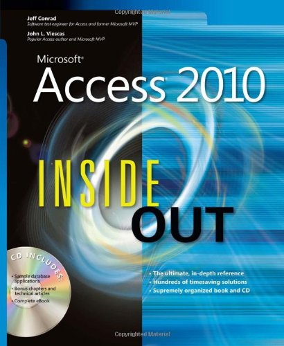 [PDF] Microsoft Access 2010 Inside Out Free Download | Publisher : Microsoft Press | Category : Computers & Internet | ISBN 10 : 0735626855 | ISBN 13 : 9780735626850