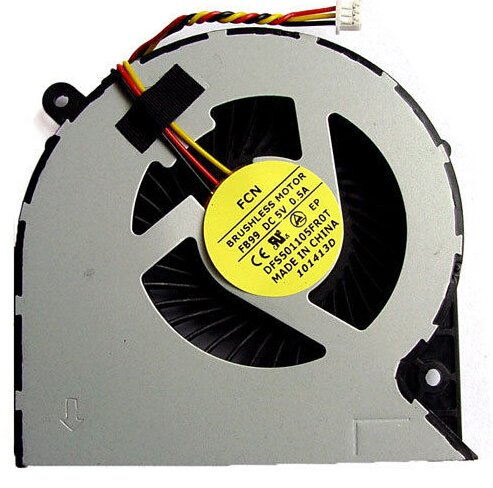 Price comparison product image New CPU Cooling Fan For Toshiba Satellite C850 C875 C870 L850 L870 Series Laptop 3 PIN Version 1 Fit Part Numbers MG62090V1-Q030-S99 MF60090V1-C450-G99