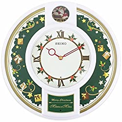 Seiko QHM003WLH Mini Melody in Motion Clock