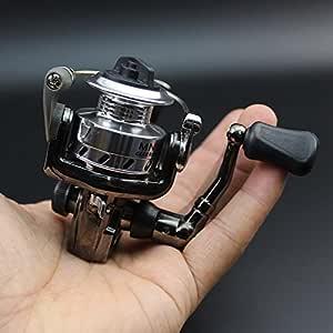 Foldable Mini Spinning Fishing Reel Roller Lure Rod 200 Type Ice Wheels 5.1:1