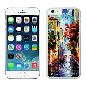 taoyix diy Iphone 6 Case 4.7 Inches, White Silicone Soft Phone Case Cover for Apple Iphone 6, Green and White Dot Iphone 6 Case Cover Speck