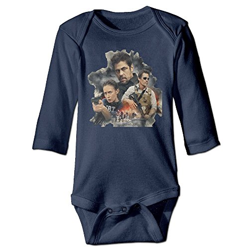 Price comparison product image DELPT Sicario Poster Fashion Baby Girls Boys Climb Romper 12 Months Navy