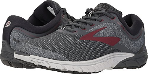 Brooks Mens Purecadence 7 Ebano / Rosso Scuro / Nero
