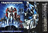Transformers Revenge of The Fallen Big Screen Edition & Transformers Prime Darkness Rising DVD Sci-Fi Adventure Set