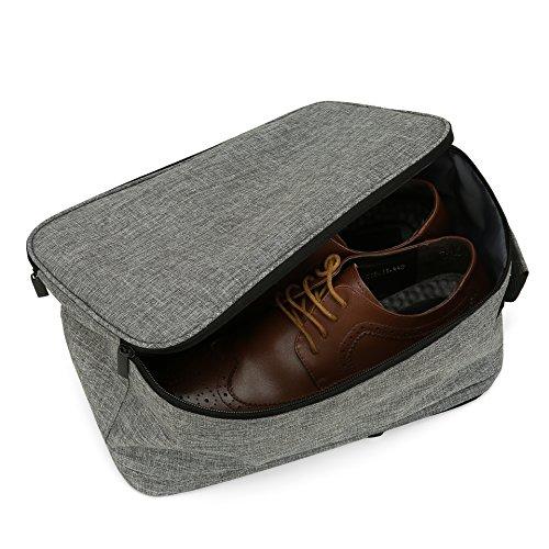 VASCO Shoe Travel Bag – Zipper Bags – Suitable as Shoe Gym Bag – For Men & Women - Gray by Vasco (Image #5)