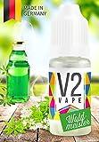 V2 Vape E-Liquid Waldmeister ohne Nikotin - Luxury Liquid für E-Zigarette und E-Shisha Made in Germany aus natürlichen Zutaten 10ml 0mg nikotinfrei